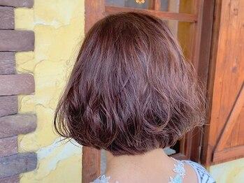 ゼクトサウス(zect SOUTH)の写真/《魅力を引き出す艶色》大人女性に嬉しい、頭皮と髪に優しいカラー。白髪染めも髪を労りダメージレスに◆
