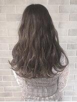 アールプラスヘアサロン(ar+ hair salon)外国人風ピンクグレージュ