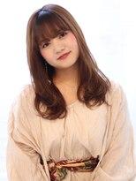 ヘアリゾート バレンタイン(hair+resort valentine)【valentine高木】厚めバング×スヌーピー巻き♪