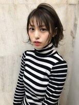 ラノバイヘアー(Lano by HAIR)【Lano by HAIR】関亜梨佐 黒髪暗髪アッシュ小顔ショート