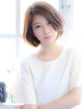 ヘアーアンドカラー ミヤ 桑園駅前店(hair & color MIYA)ナチュラルボブ