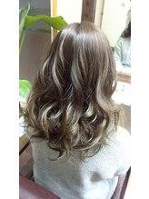 ヘア デ パルサ(Hair de Parusa)グラデーションカラーグレージュ
