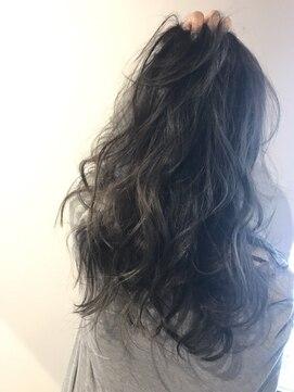 リアン ヘアー(Lien hair)グレージュグラデーションカラー