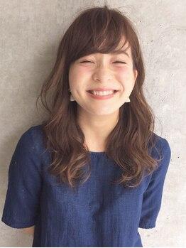 アミル(AMIL)の写真/パーマスタイルで可愛くイメチェン★美しくあなたらしいスタイルで、笑顔はじけるステキな女性に…*