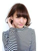 ソレイユ(Soleil)Soleil菊地<ピンクアッシュが可愛い軽めのボブスタイル>