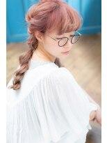 magiy hair[Nishibe] ふんわり編み込み