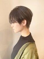 シアン ヘア デザイン(cyan hair design)【cyan】ハンサムショート
