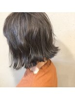 アルマヘアー(Alma hair by murasaki)切りっぱなしボブ