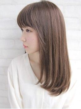 ビームズヘア 藤が丘店(Bee Ms HAIR)の写真/【髪質改善といえばBee-ms】髪質改善酸性ストレートでサラ艶に♪ナチュラルな仕上がりに大人女性も大満足◎