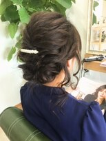 ヘアーガーデン シュシュ(hair garden chou chou)ヘアアレンジ