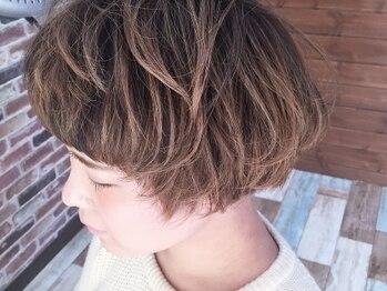 """アトリエ ローナ(atelier Lo-nA haircare & design)の写真/""""自分で再現できる""""のは当たり前!を実現する繊細なカットが人気★その持続性も高評価&人気の秘密です♪"""