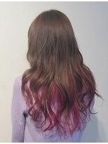 個性的☆ピンクカラー