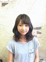 ウォンカヘアー(WONKA hair)ゆるふあミディパーマ