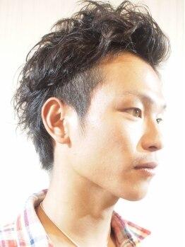 ミルプデザイン(MilP design)の写真/【船橋人気No.1】彼氏&夫に通って欲しいと評判!雰囲気のある男は髪型から◎価値がわかる男のサロン☆