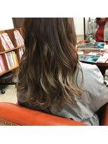 ヘアー コパイン(HAIR COPAIN)[熊本/中央区/上通り/並木坂] グラデーションカラー