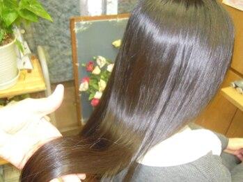 トータルビューティーサロンカワニシの写真/【髪質改善】カラーやパーマ・アイロンで傷んだ髪へ…《Drヒートトリートメント》で美髪へと導きます★
