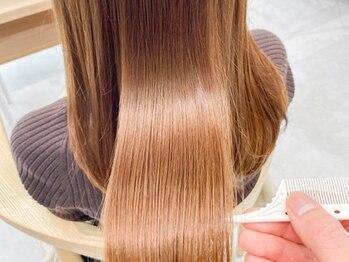 キリ 表参道(kyli)の写真/【髪質改善】進化した酸熱トリートメントSUBLIMIC!圧巻の補修力と艶で理想の髪質に♪