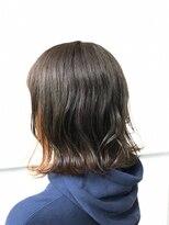 マルカ(marca)【Color Style】耳かけオレンジインナーカラー♪