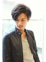 【CARE UMEDA】メンズゆるふわモテパーマ ネープレス