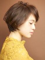 ベックヘアサロン 広尾店(BEKKU hair salon)エフォートレスなハニーヘアで斜めバング☆