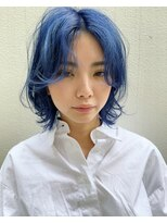 レコ(LECO)色落ちが緑にならないブルー