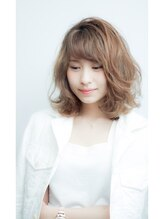 アース 菊名店(HAIR&MAKE EARTH)リゾートウェーブミディ