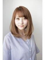 シアン ヘア デザイン(cyan hair design)【cyan】大人かわいい 内巻きミディ