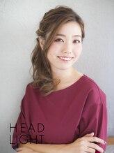 アーサス ヘア デザイン 鎌ヶ谷店 (Ursus hair Design by HEAD LIGHT)*Ursus hair*カジュアルハーフアップ