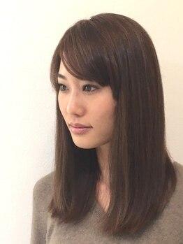アルモニー ヘアー(Harmonie Hair)の写真/今までの縮毛矯正との仕上がりの違いにきっとあなたもびっくりするはず!!是非、一度お試しください☆