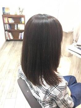 リュクス(Luxe)の写真/クセやうねり、扱いにくい髪も《Luxe》で解決♪一人ひとり違う髪に、あなただけのメニュー提案を。