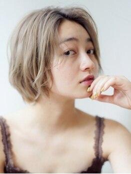 エルバイシオン(aile by sion)の写真/最旬スタイルはグレージュで決まり☆赤みの出ない透明感のあるこなれたスタイルを演出します◇