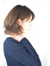ル ジャルダン ヘアー プロデュース(Le.jardin hair produce)ミディアム×デジタルパーマ
