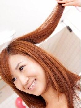 アクションスタイル 南浦和店(Action Style)の写真/豊富な自然派オーガニック系カラー剤を揃えているのはここだけ!白髪染もおしゃれ染も厳選薬剤で健康髪へ♪