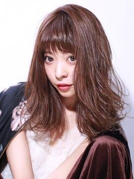 ブラン(Blanc)☆忙しい女性オススメ☆ほぐれミディアム×マロンカラー