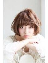 ソース ヘア アトリエ 京橋(Source hair atelier)【Source】フェミニンフレンチボブ