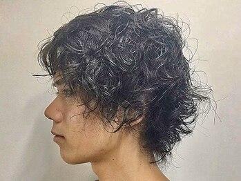 バーバーショップ テト キタヤマ(barber shop tete kitayama)の写真/【北山駅徒歩1分】「自分らしい」Styleをパーマで再現!自然なのに存在感がある、さりげないお洒落を演出◎