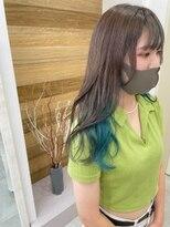 (飯塚)Greige × summer blue