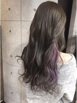 """アドミニヨンイチマルイチタジミ(Admignon 101 tajimi)の写真/カラーにかかせない、""""クリアで深みのあるツヤ・輝き""""を実現!!髪と頭皮に優しいハーブカラーもあります☆"""