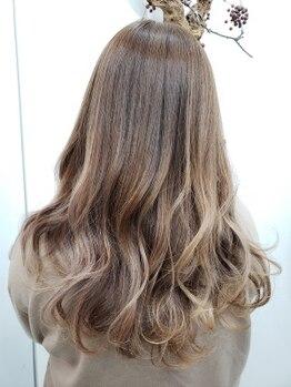 ヘアメイクマナ(hair make MANA)の写真/【桜坂駅スグ!】これまでのコンプレックスも魅力に変わる◎髪に優しい施術で、長続きする美髪をご提案*