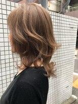 ヘアー メイツ ニューヨーク 学芸大学(Hair Mates NewYork)ハイライト 白髪染め バレイヤージュ