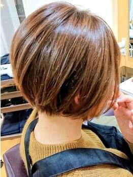 アルフィーネ(alfine)の写真/ハイキャリアスタイリスト在籍★髪のお悩みを解消する高いカット技術で理想のスタイルを創り出します☆