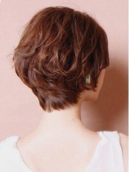 てんとう虫の写真/《野田/海老江》カット+カラー¥5230☆オーガニック成分配合で髪と頭皮のダメージを最小限に抑えてくれる♪