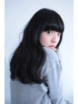 メゾン(Maison)【Maison】黒髪でもふんわり柔らかなニュアンスカール