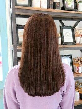グミグミ(Gumi Gumi byIfh)の写真/うねりや広がりなど髪の悩みとさよなら♪あなたの髪に合わせた施術で、理想のさらつやストレートを実現◇