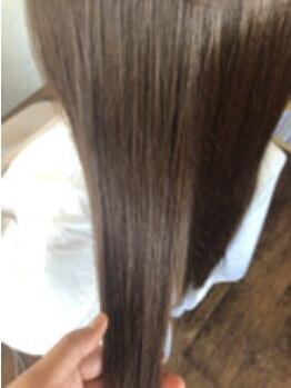 """ヘアデザイン アズール(hair design azure)の写真/今話題の""""S-AQA""""【サイエンスアクア】美髪チャージという新発想テクノロジーでうる艶髪を手に入れませんか?"""