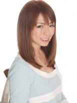 媚びない女らしさが香る究 極のナチュラルヘア!【平塚】