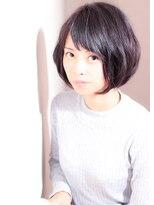 黒髪でも決まる☆ナチュラルショート