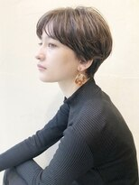 ニュートラル ドア(NEUTRAL DOOR)【NEUTRAL DOOR 岩田】大人かわいいハンサムショート/サイド