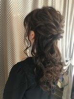 ヴァーチェ ヘアー(Virche hair)結婚式 ハーフアップ