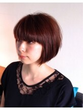 ヘアーカーブ(haircarve)haircarve秋冬・ドーリーカッパーカラー・ボブ